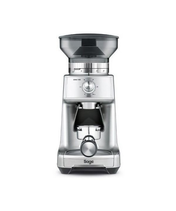 Sage The Dose Control Pro Kaffeemühle silber