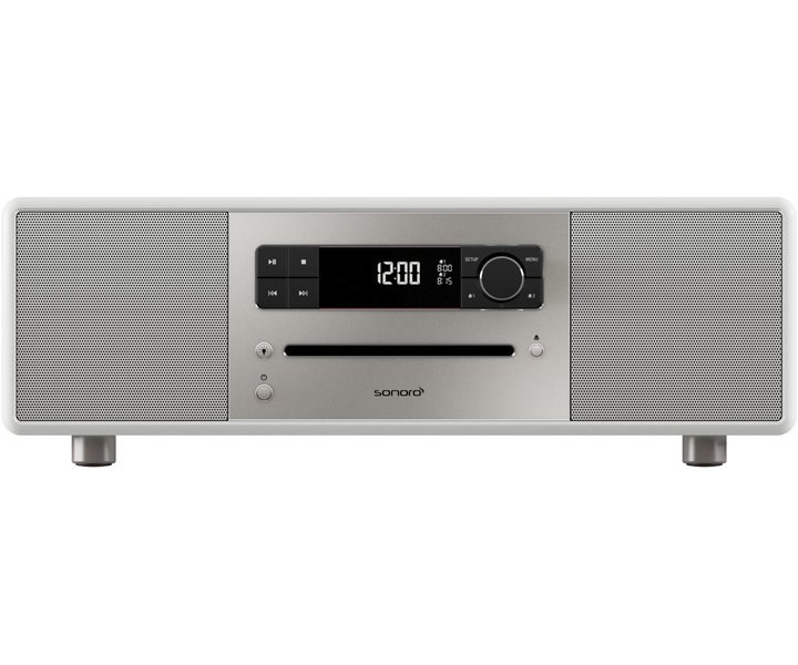 Sonoro Lounge Stereo-Musiksystem weiß